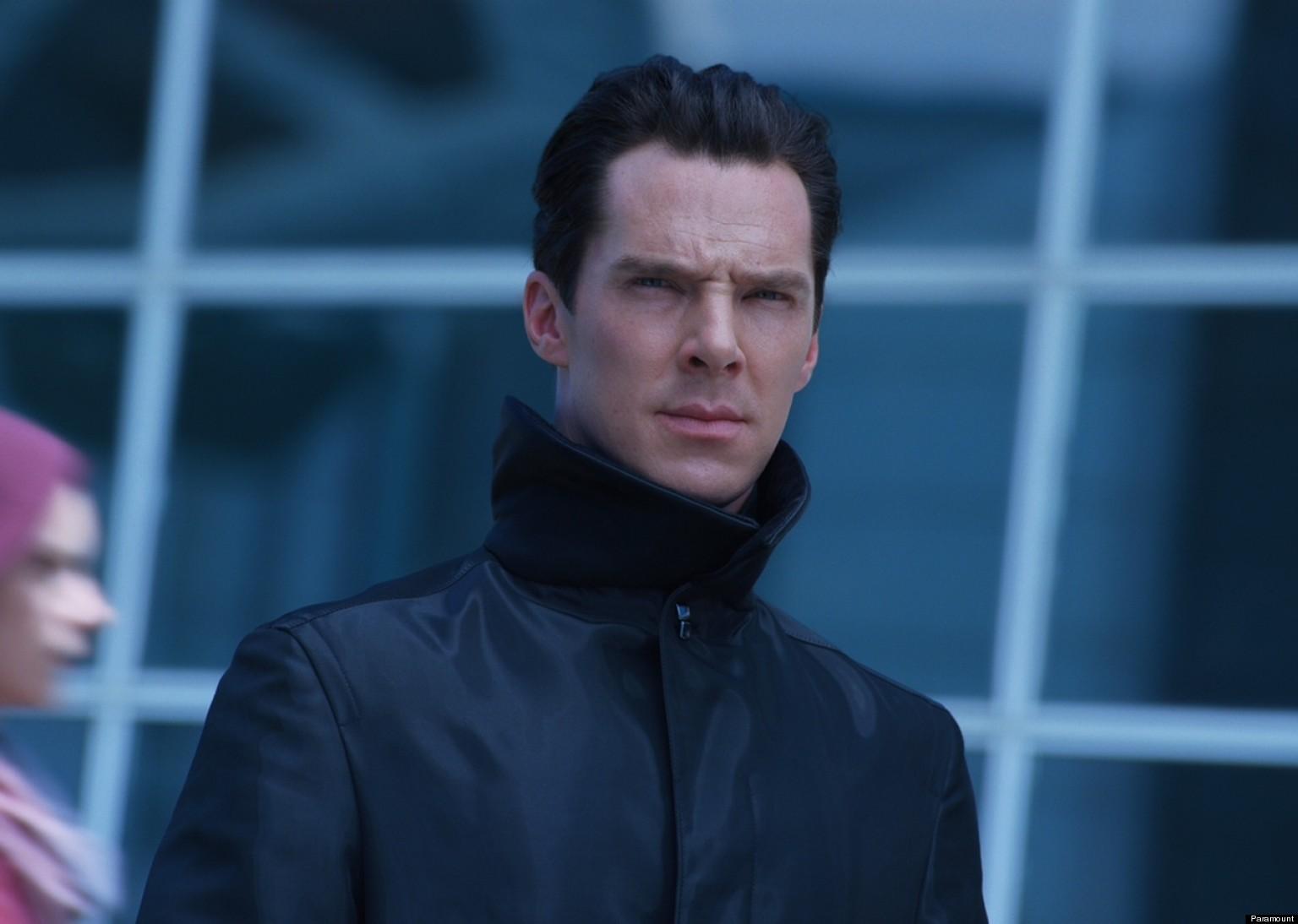 Benedict Cumberbatch Star Trek Interview Gif