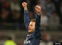 Beckham Wins Fourth Title In Fourth Different Country With PSG (PICTURES)
