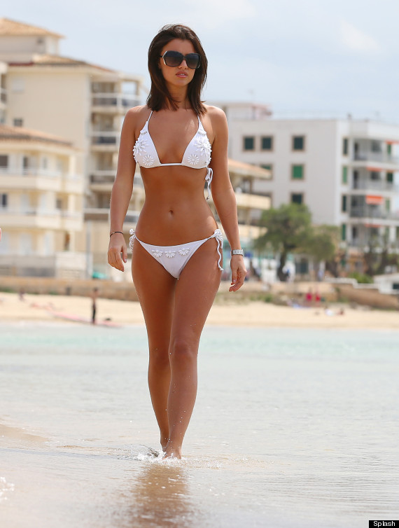 towie lucy mecklenburgh bikini