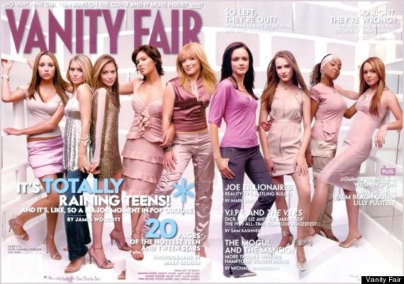 fair vanity Lindsay lohan