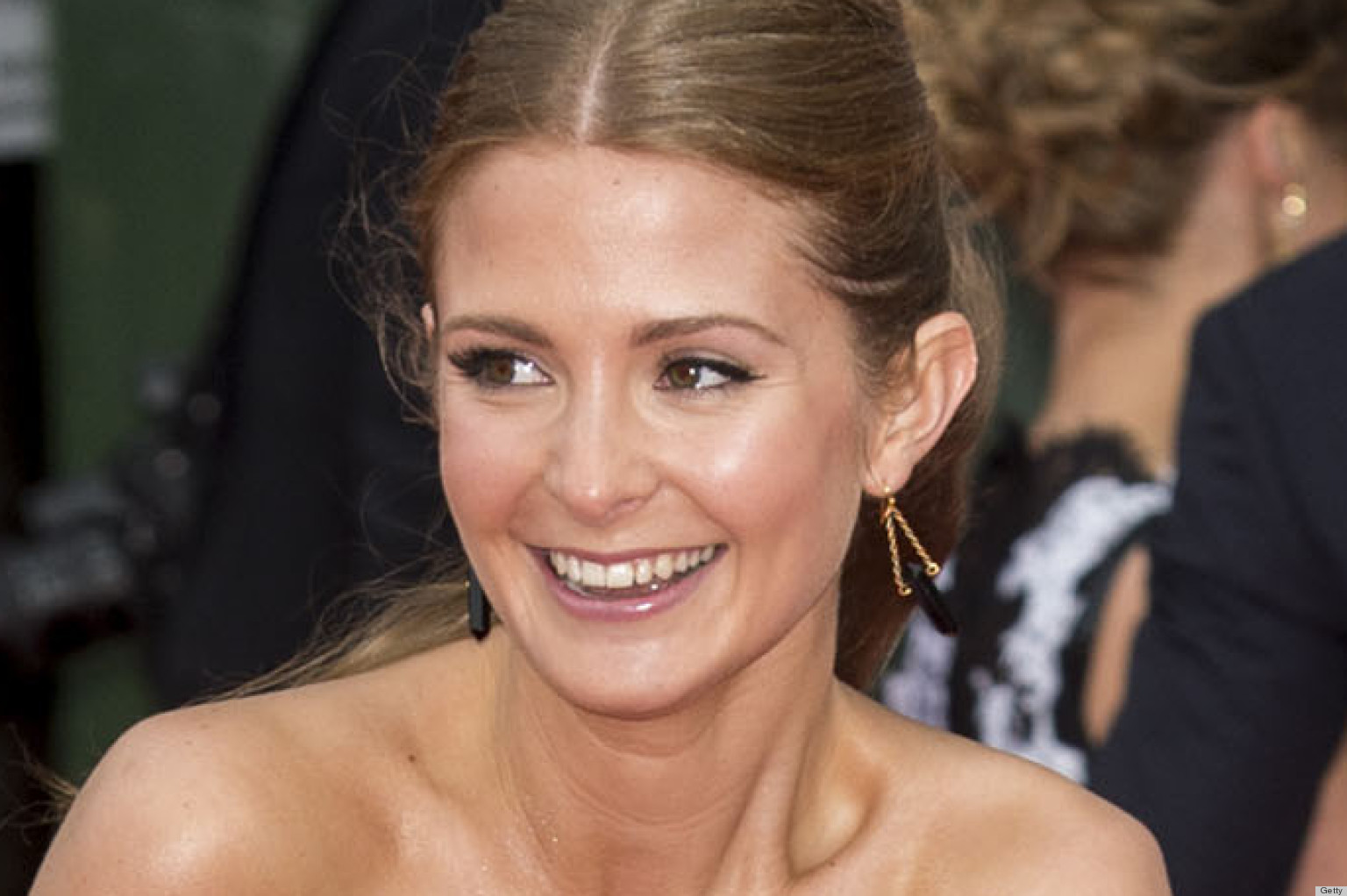 PHOTOS: Millie Mackintosh Has A Marilyn Monroe Moment At The BAFTAs