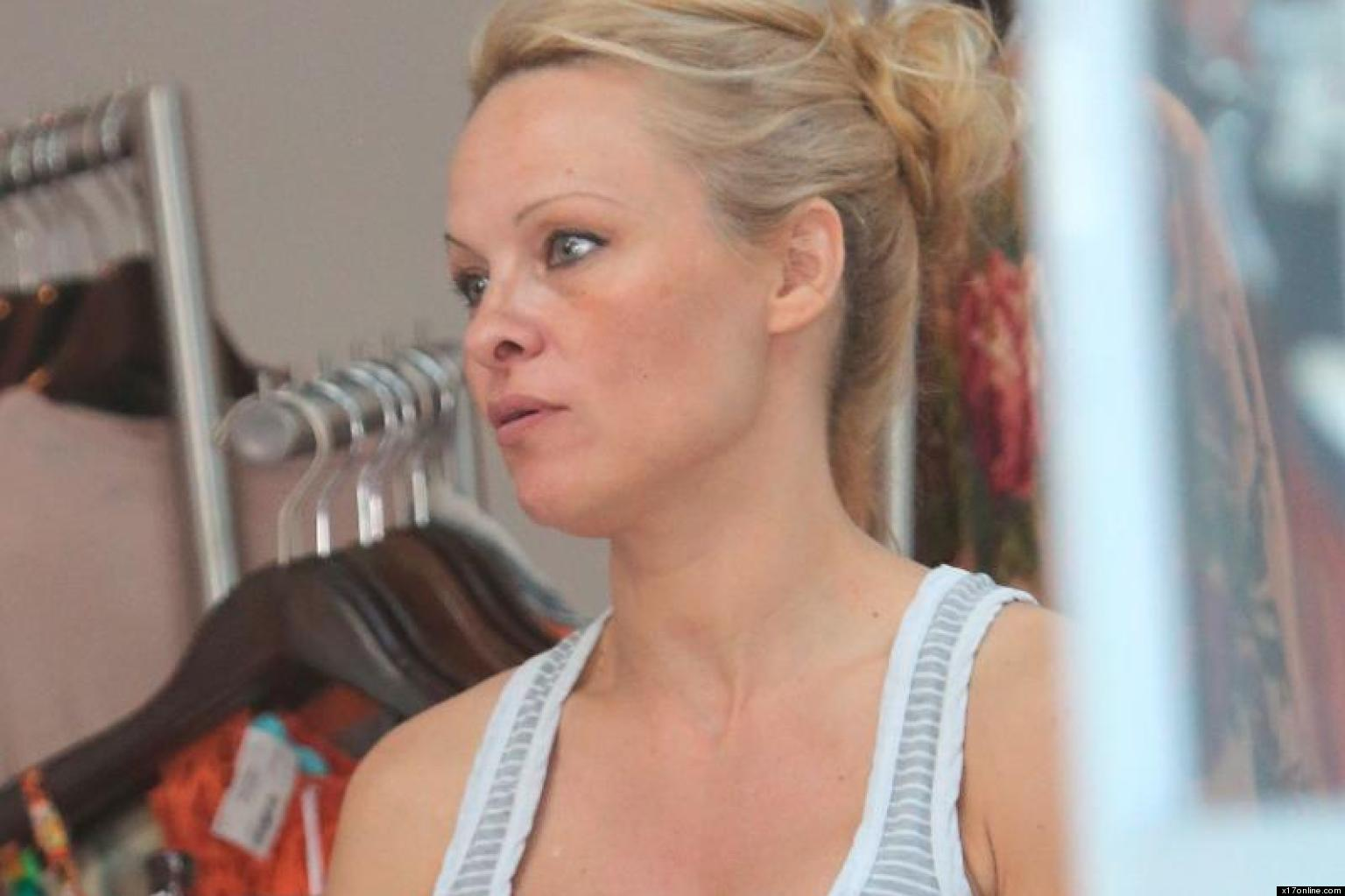 Pamela Anderson 2013 Without Makeup Pamela Anderson Without