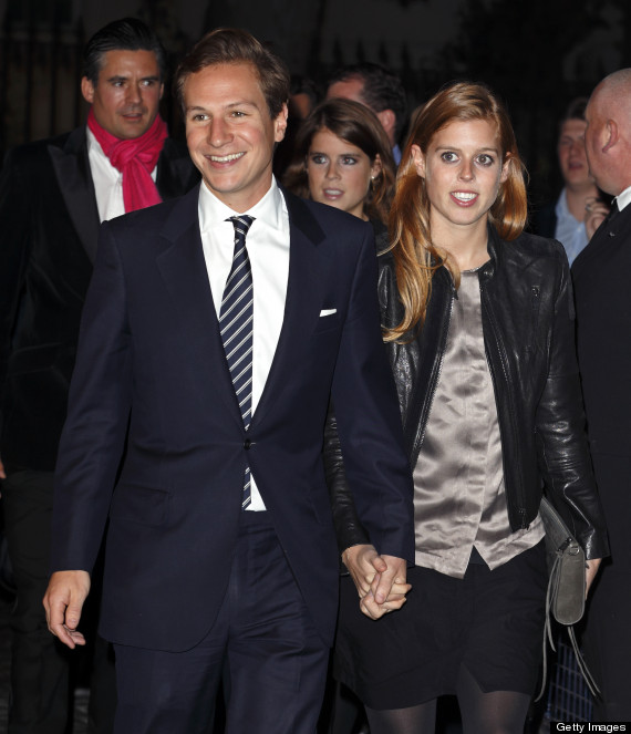 princess beatrice and dave clark