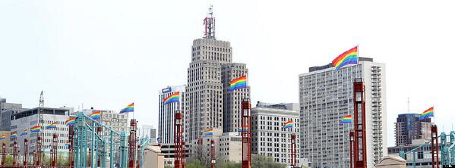 LOOK: Minnesota Mayor Re-Names City Bridge In Honor Of Gay Marriage Vote