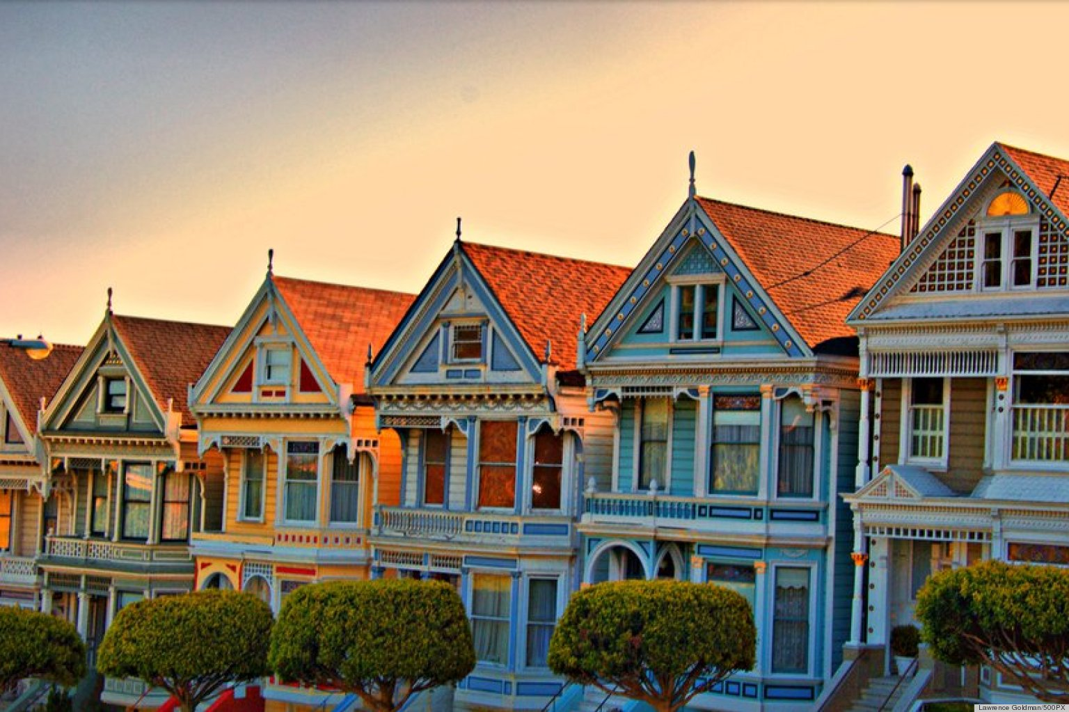 San Francisco 39 S 39 Painted Ladies 39 Are Our Inspiration Of