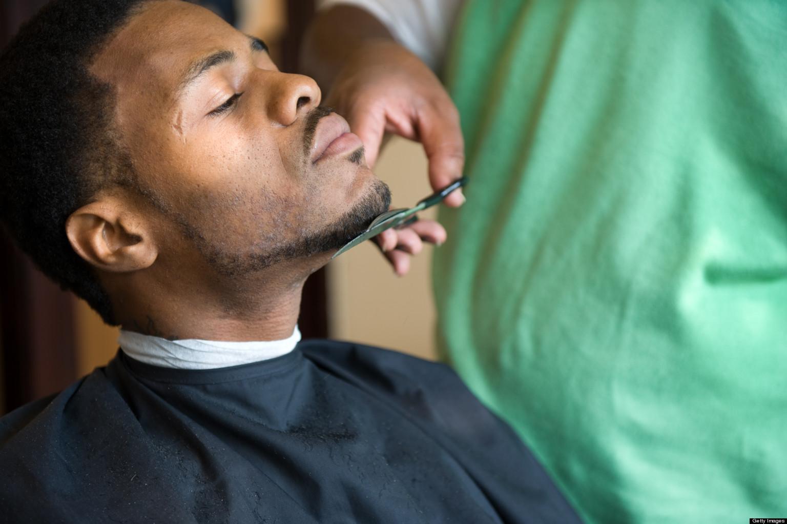 men facial grooming