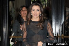 Fashion Fail? Eva Longoria Makes Paris TV Appearance In Sheer Top