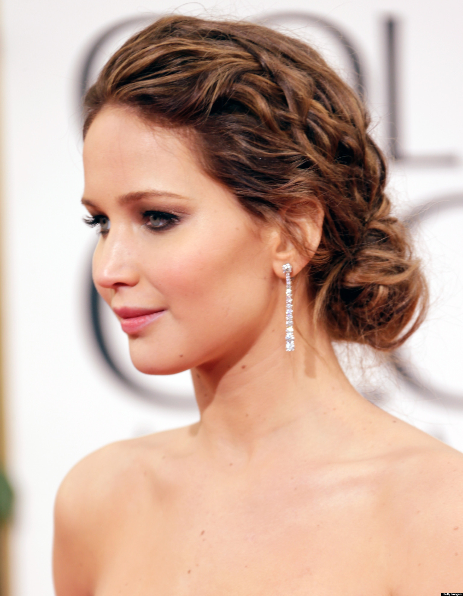 Jennifer Lawrence Updo