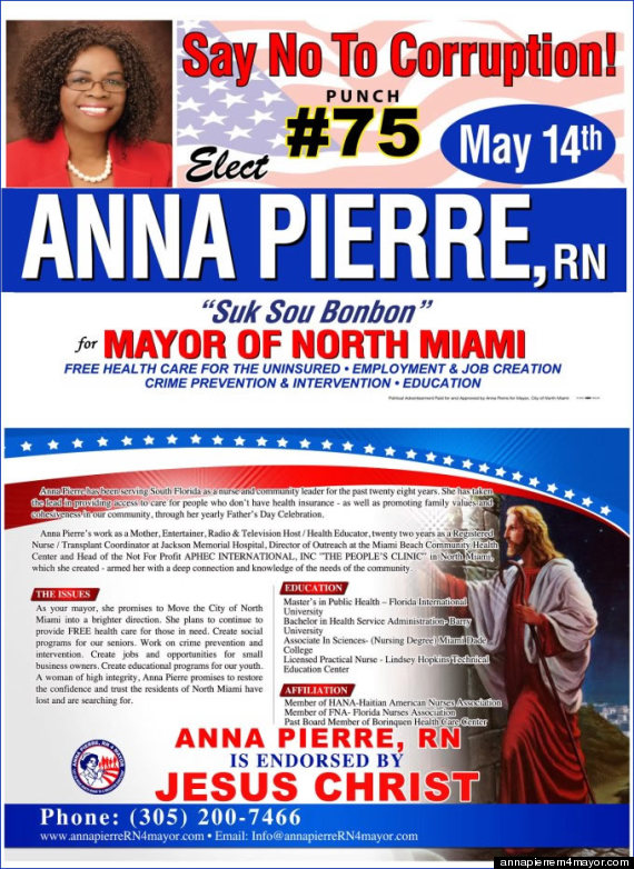 north miami mayor jesus