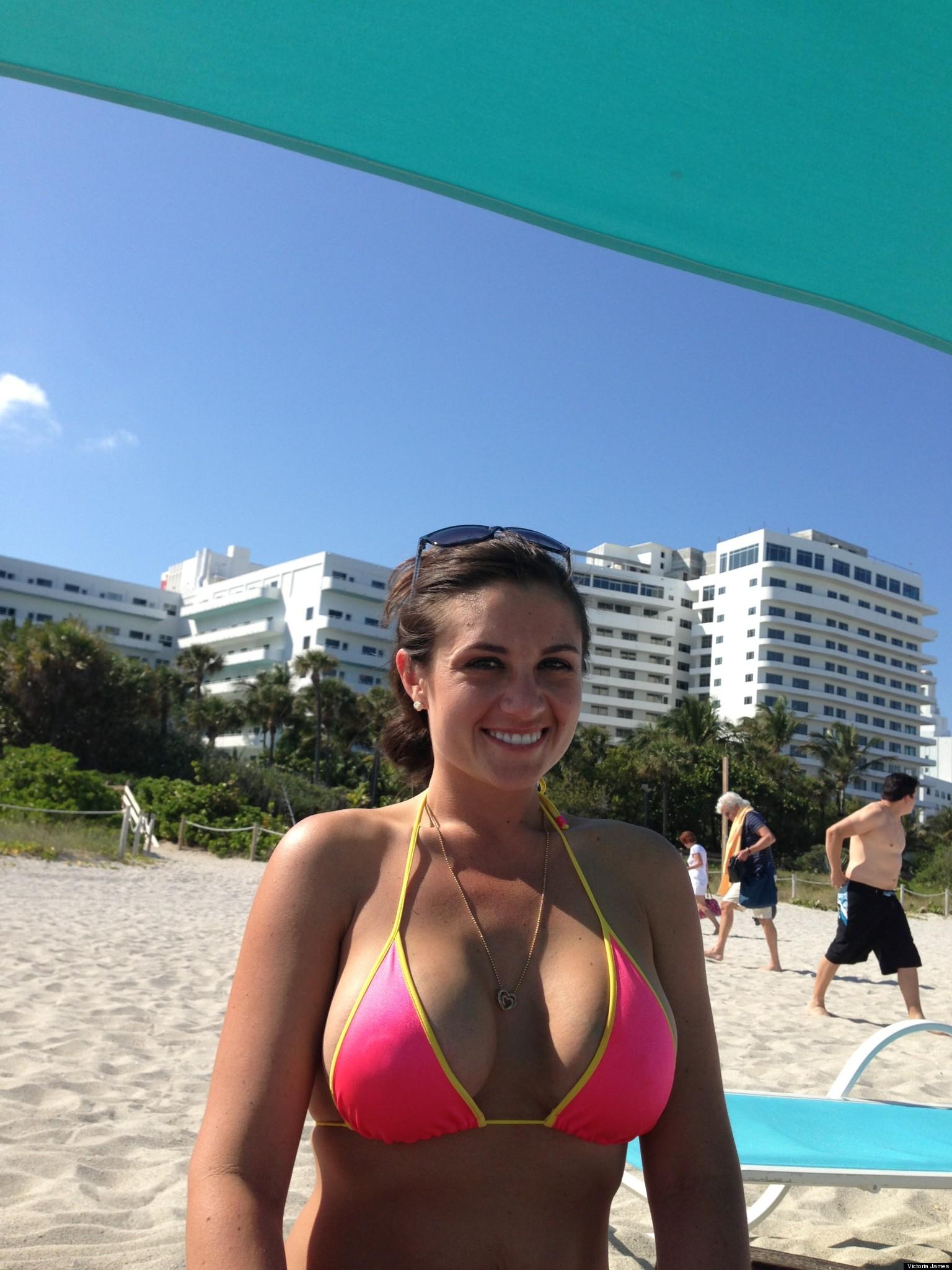 NEW PHOTOS: Bikini Teacher Basks In Newfound Fame