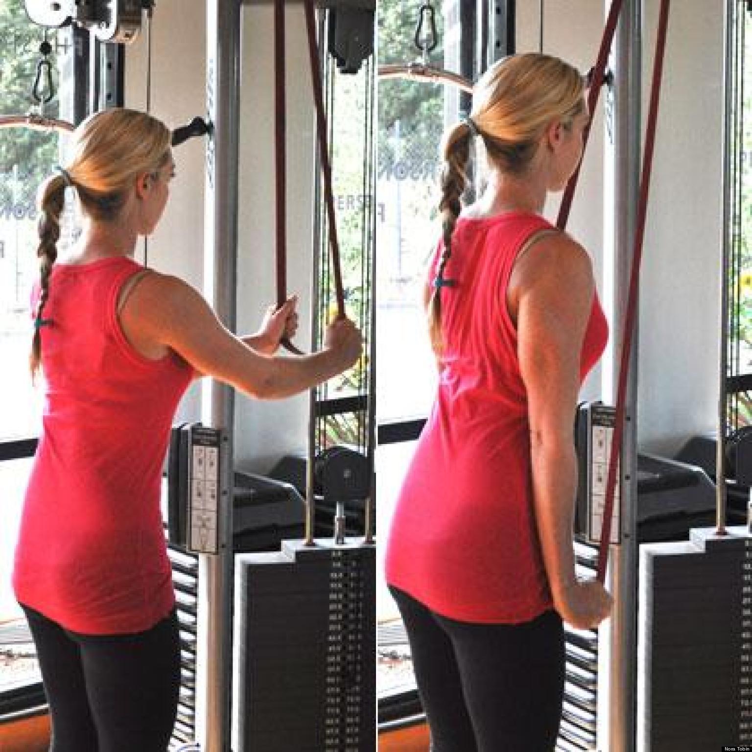 Exercise Bands Bar: 8 Easier Alternatives To Pull-Ups