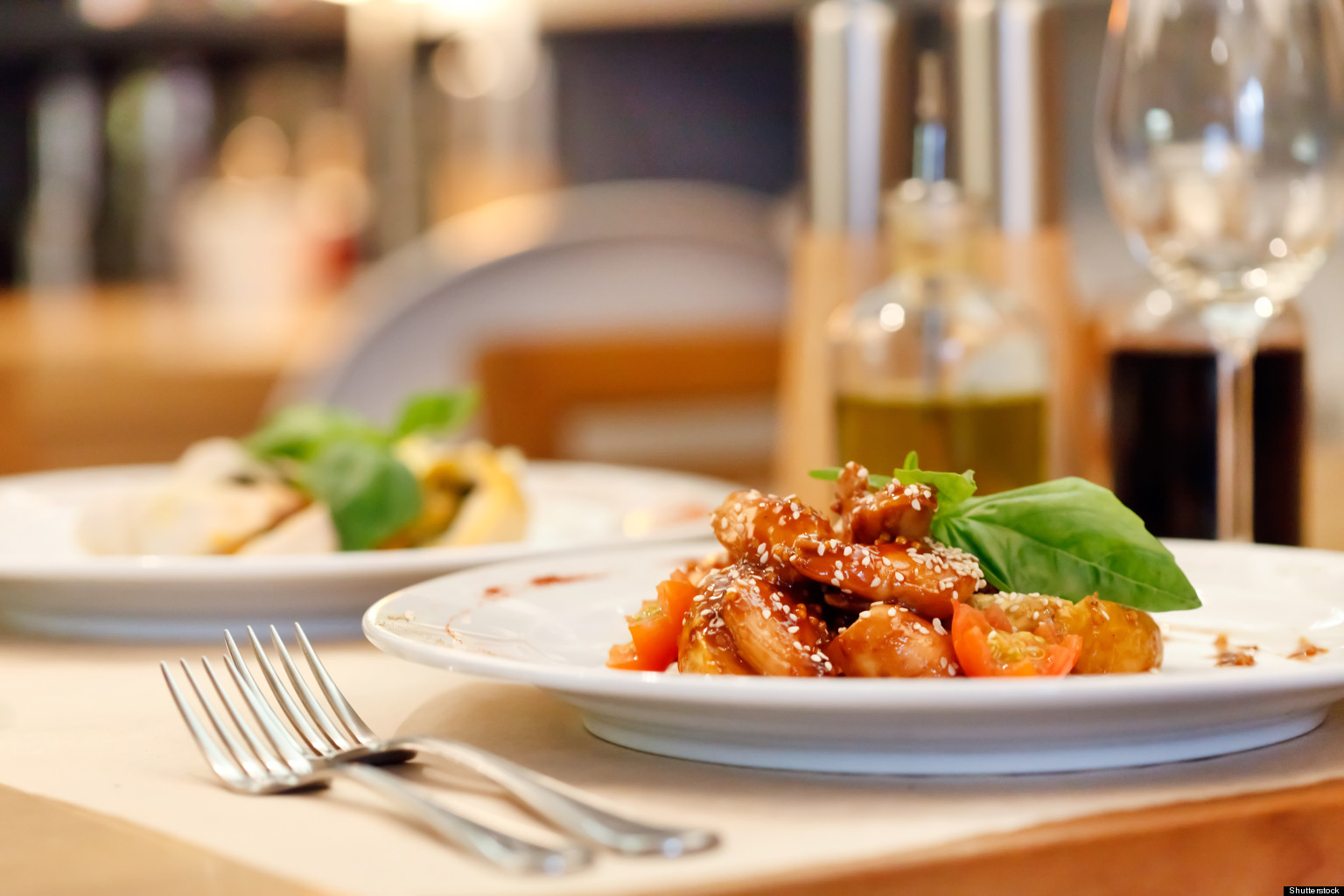 Restaurant Meals Have More Than Half Of Daily Recommended..
