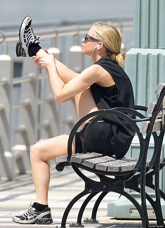 ashley olsen works out