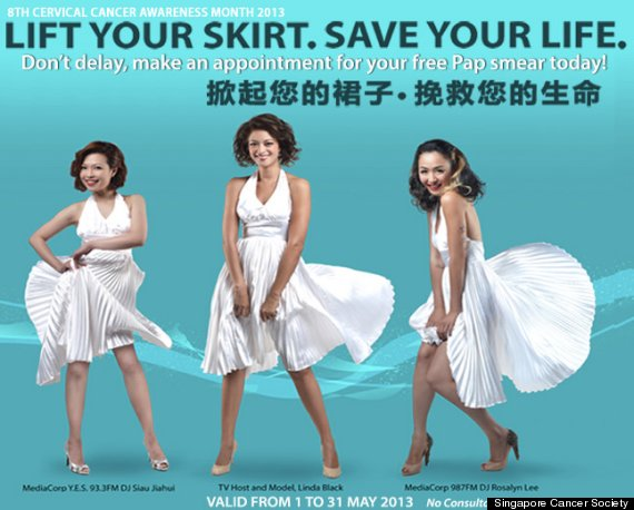 lift your skirt campaign