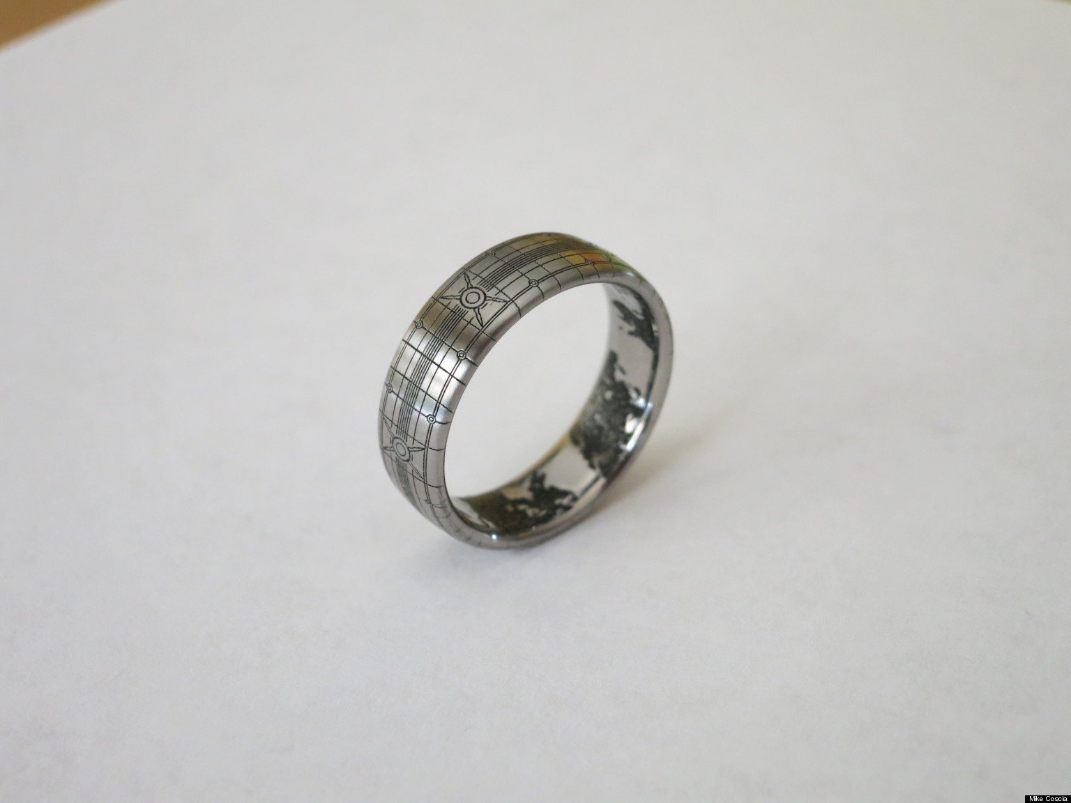 'halo' Wedding Ring: Superfan Designs 'halo'themed Band (photo)  Huffpost