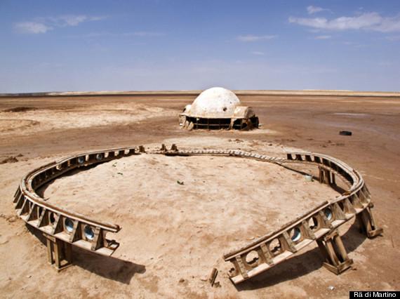 abandoned star wars sets
