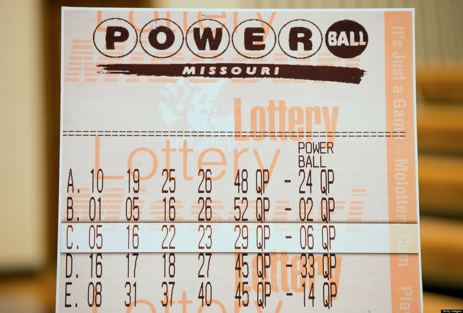 powerball tx lotto numbers