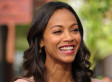 Zoe Saldana Says She May 'End Up With a Woman'