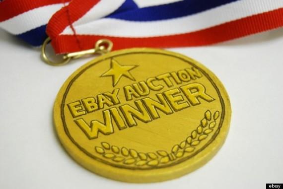 ebay winners medal