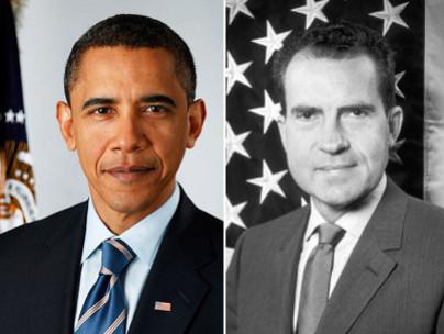 Obama, Nixon