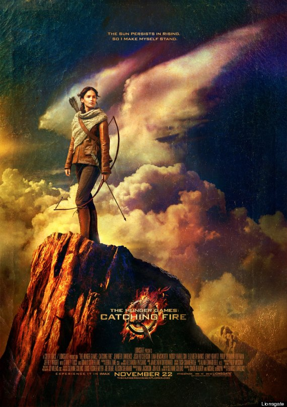 catching fire poster katniss