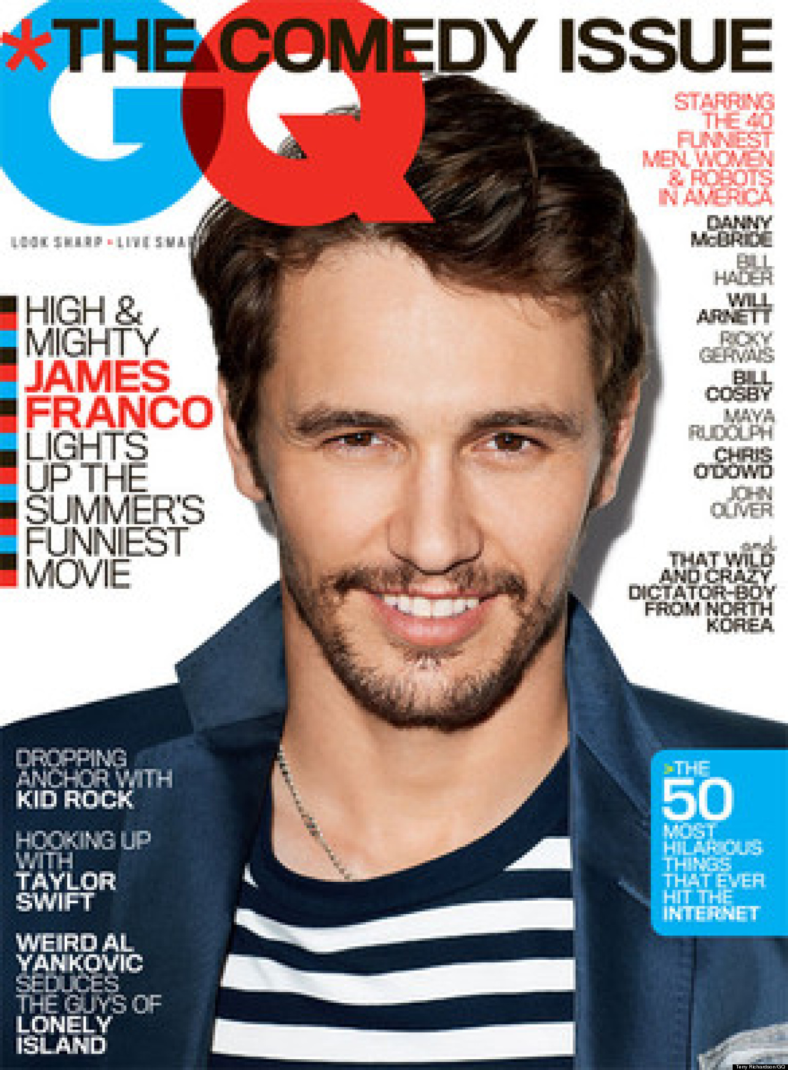 Gq Magazine The Secrets Of R Kelly: James Franco Tells GQ Which Of His Movies 'Sucks' (PHOTO