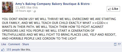 Amy S Baking Company Freaks Out Online After Epic Meltdown