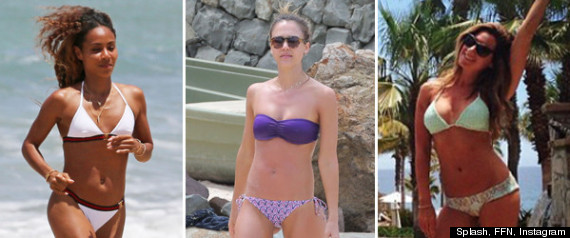 Celebrities In Swimsuits