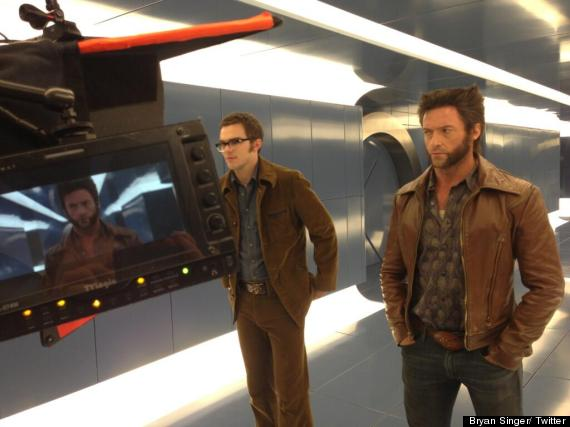 hugh jackman nicholas hoult days of future past