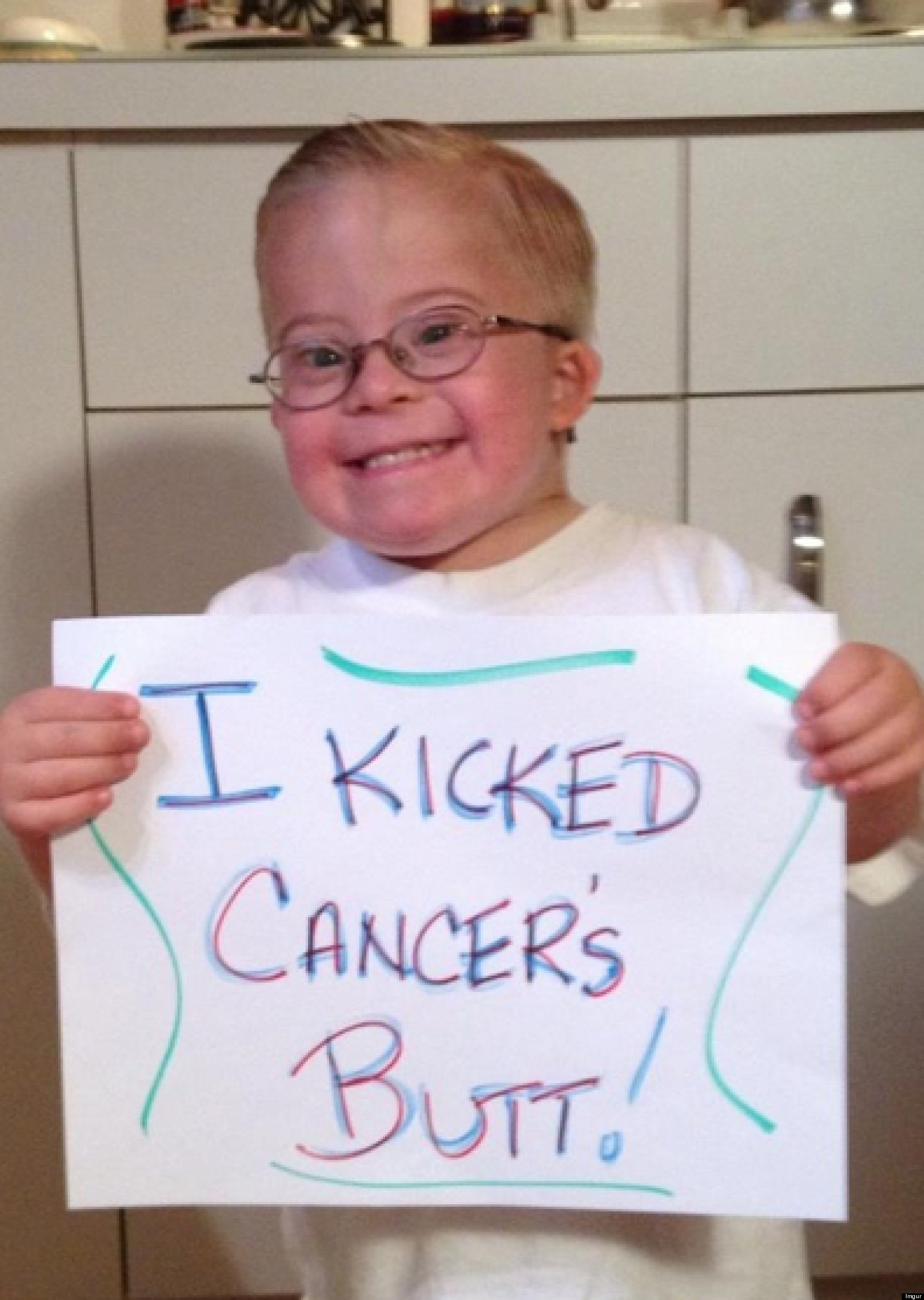 PHOTO: This Kid's Happy Message Will Make Your Day