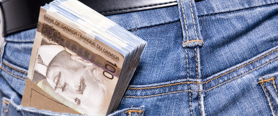 CANADIAN MONEY POCKET