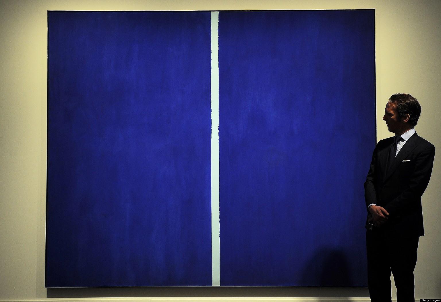 Blue Painting Worth Millions