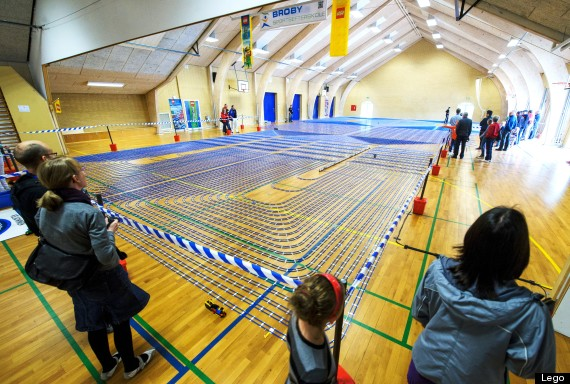 world s largest lego railway is 2 5 miles long pictures