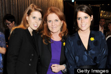 Princess Beatrice And Eugenie Party With Kate Moss And David Bailey At Charity Bash