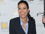 Melanie Sykes Rocks A Suit At Fashion...