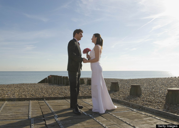 beach wedding uk