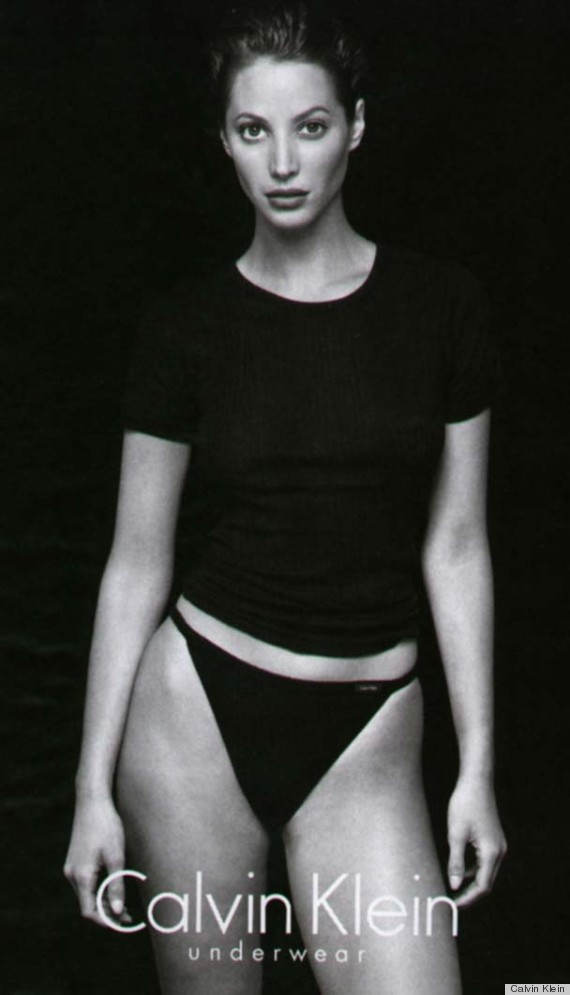 christy turlington calvin klein