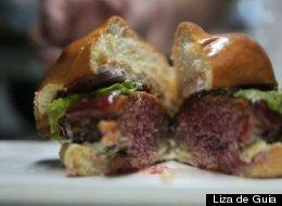 GoogaMooga Sneak Peeks: Jeepney's Cured Pork Chori Burger