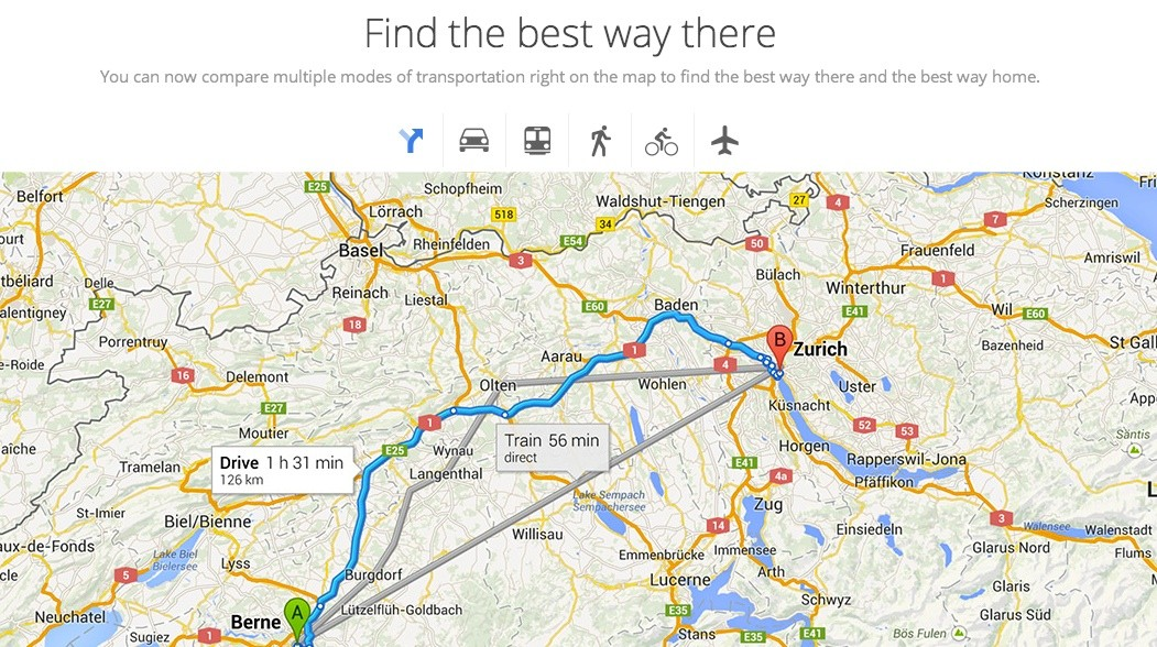 New Google Maps Could Have Better Travel Options Adapt To Your