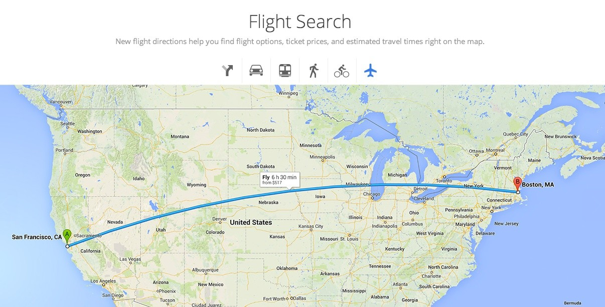 New Google Maps Could Have Better Travel Options Adapt To Your - Google maps california