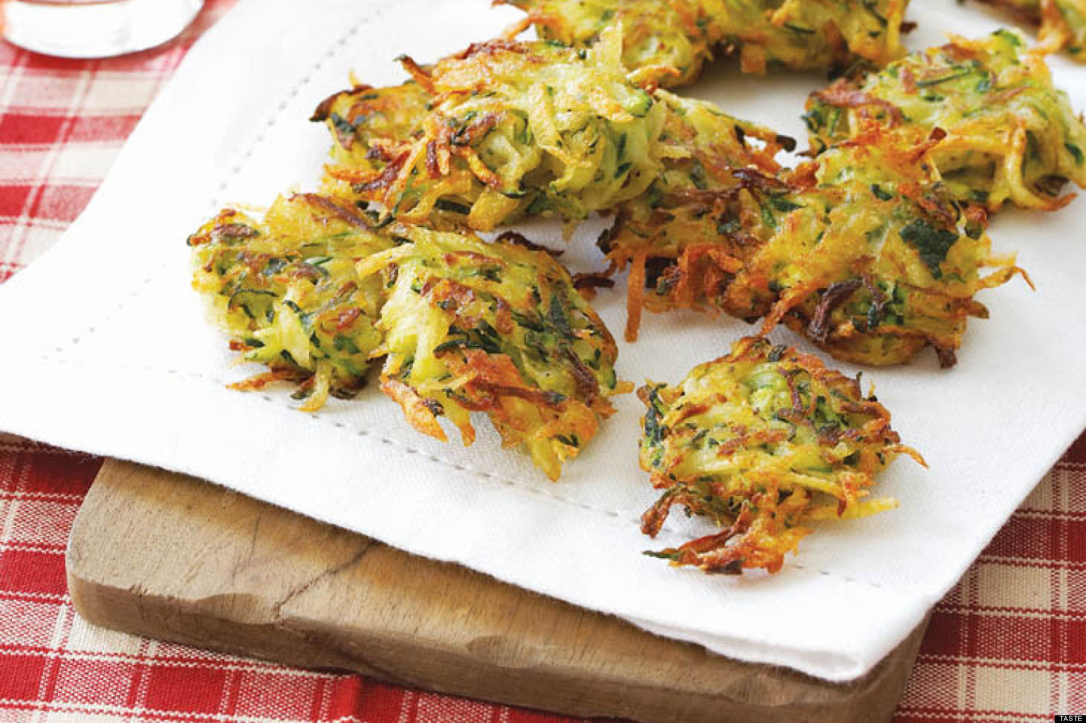Recipe Of The DayZucchini Fritters The Huffington Post