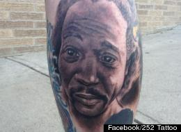 LOOK: Charles Ramsey Tattoo AND Action Figure