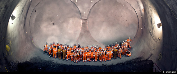 CROSSRAIL TUNNEL WORKERS