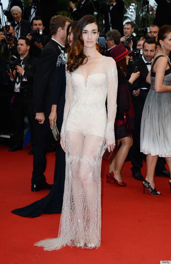 paz vega sheer dress