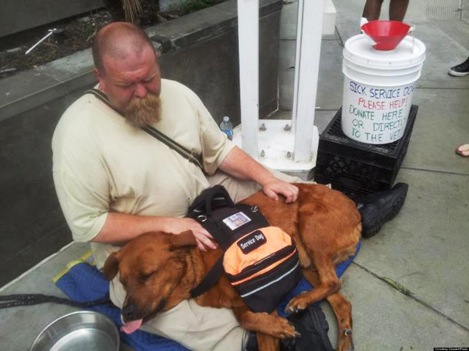 LOOK: Homeless Man's Unconditional Love For His Dog Will Astound You