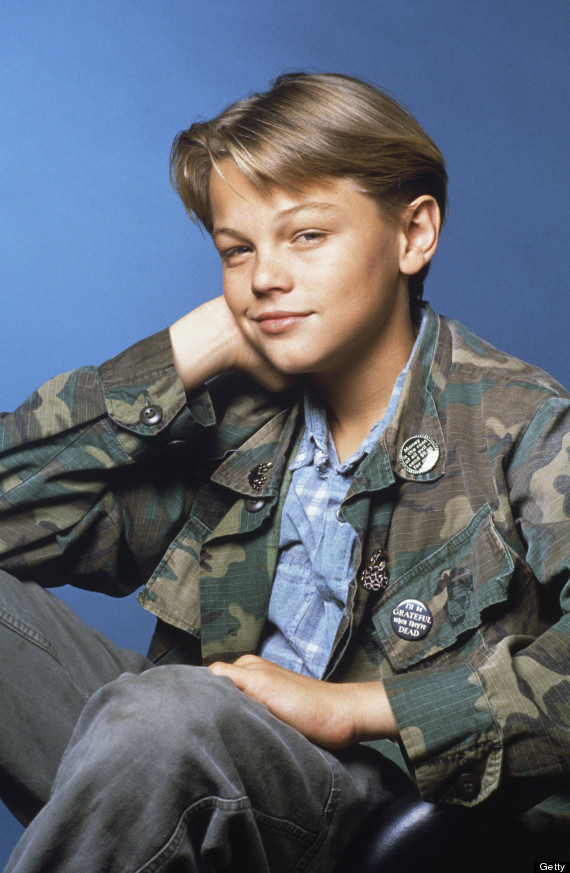 Young Leonardo Dicaprio Looks As If He S Preparing To Play