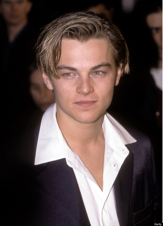 Stupendous Young Leonardo Dicaprio Looks As If He39S Preparing To Play Gatsby Short Hairstyles For Black Women Fulllsitofus