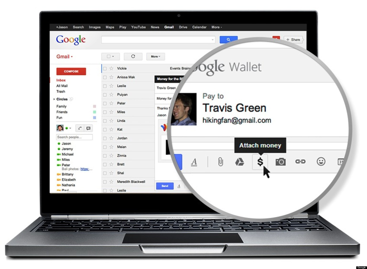 Now You Can Send Money By Gmail