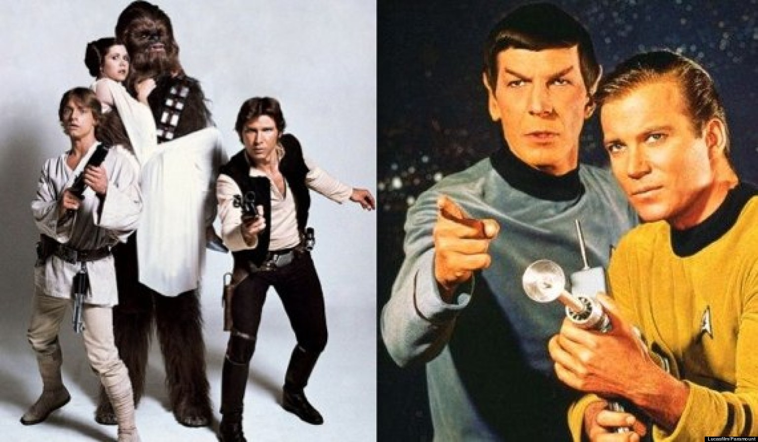 The Battle Between 'Star Trek' & 'Star Wars'