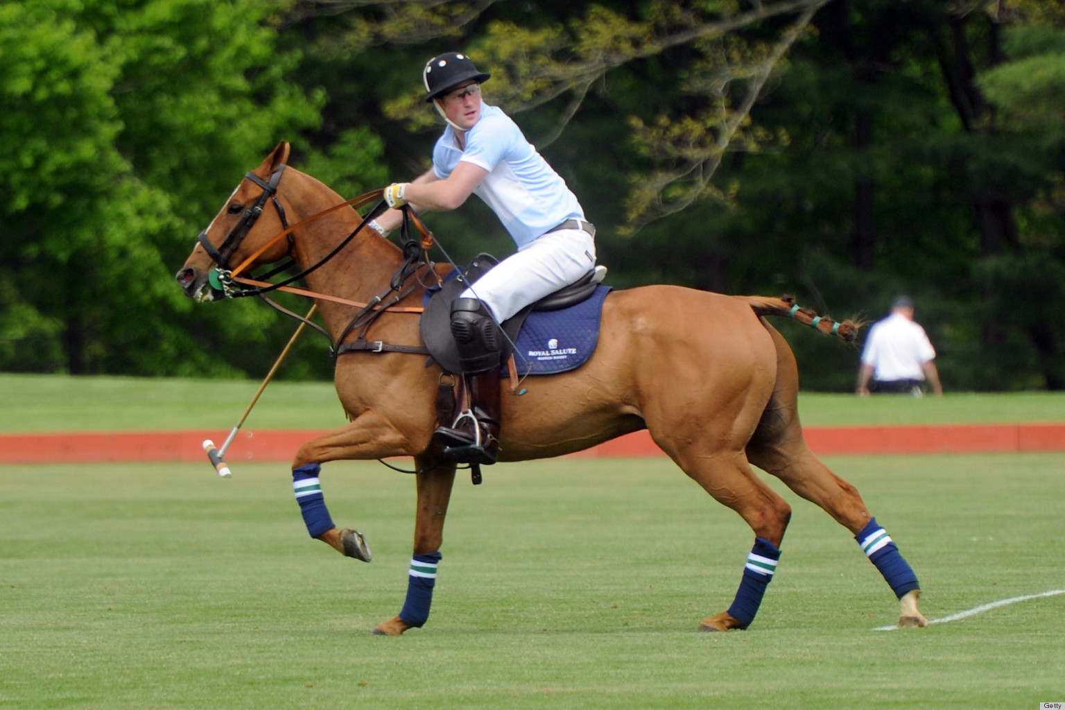 PHOTOS: Prince Harry Plays Polo For A VERY Fashionable Audience